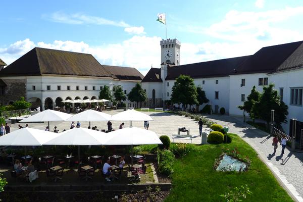 Ljubljana slot Slovenien. Foto: Mogens Hansen