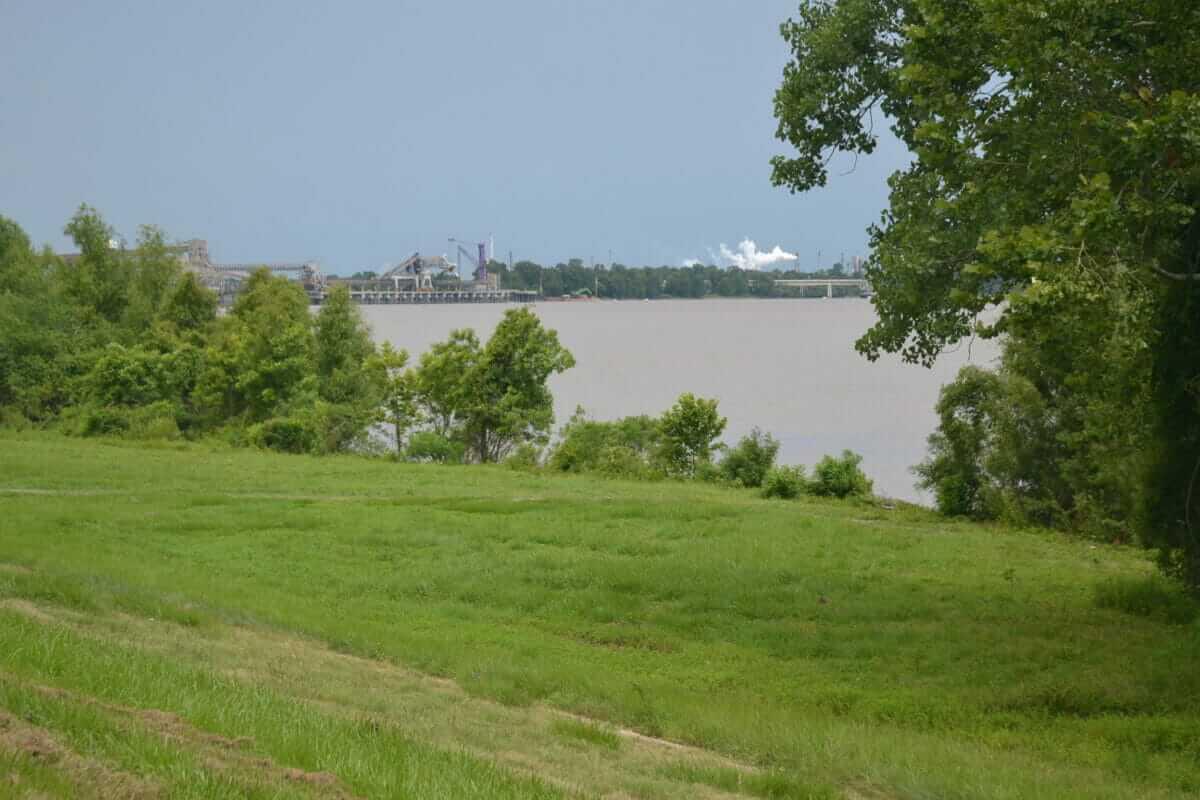 Plantagevejen langs Mississippifloden