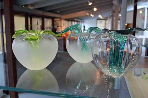 Fra Baltic Sea Glass udstillingen på Bornholm