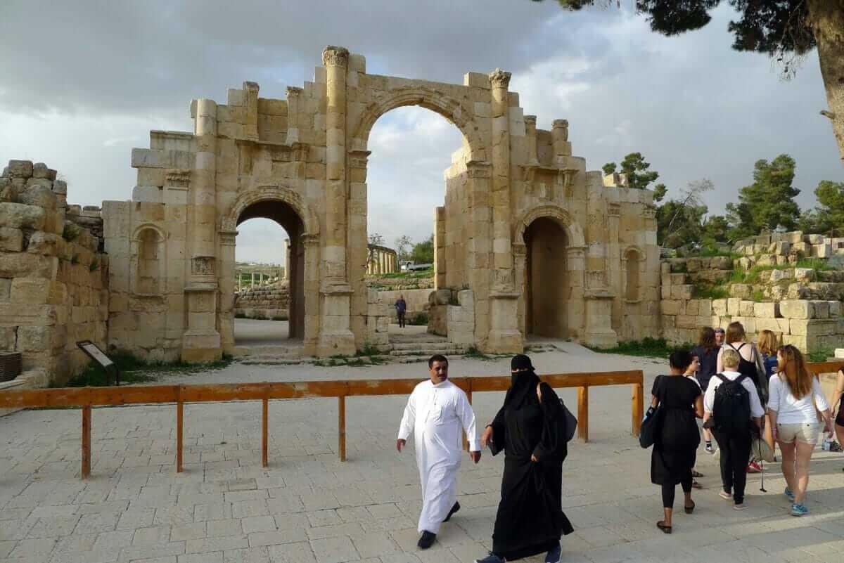 Nærkontakt med grækere og romere i arabiske omgivelser