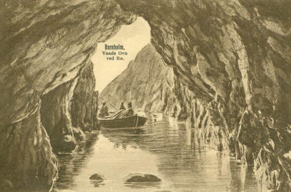 Et historisk postkort fra Vådeovn nær Hammerknuden