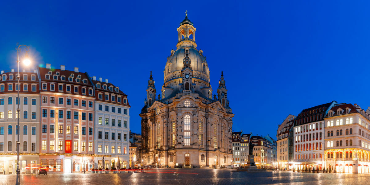 Dresdens ikoniske domkirke