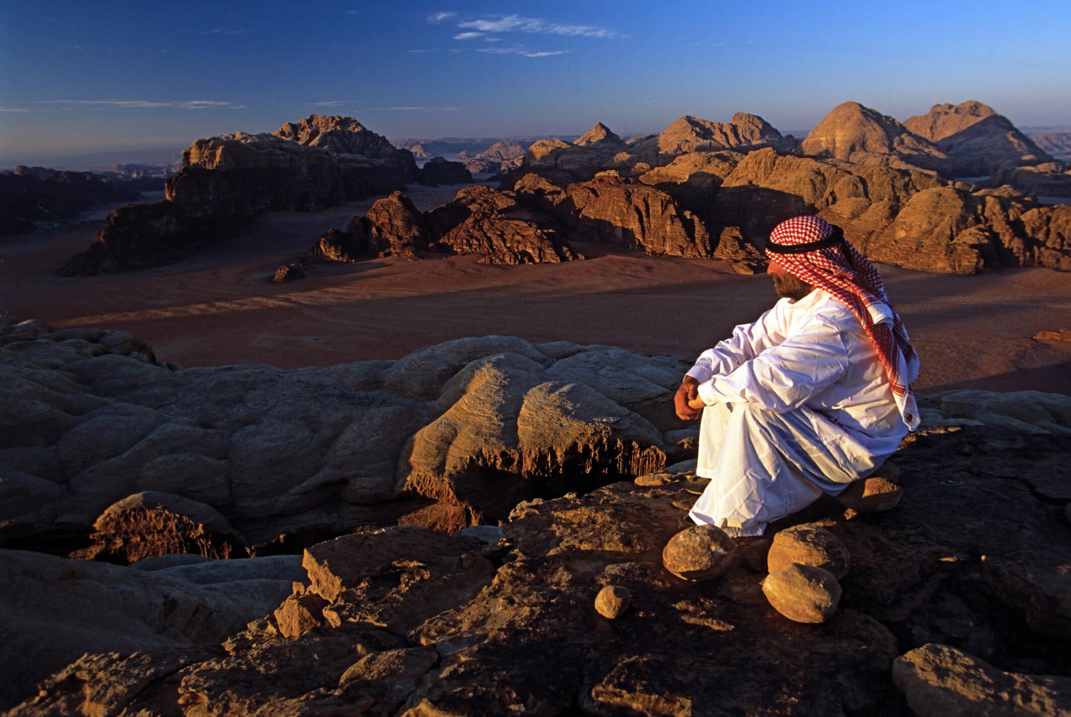 Smag på beduinlivet i Jordans Wadi Rum-ørken