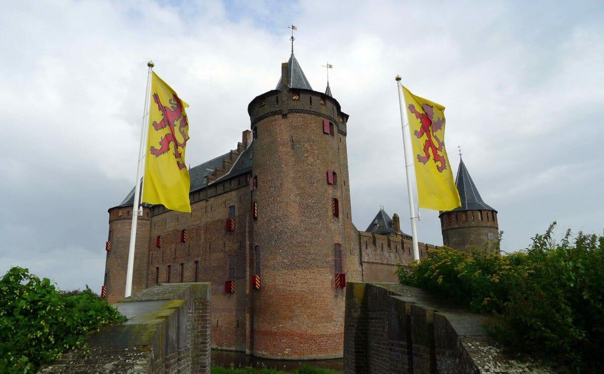 Et hollandsk slot med en omtumlet historie