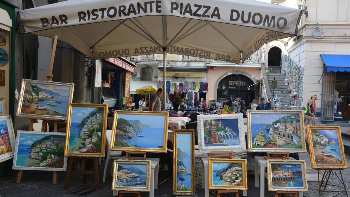 Amalfi, et paradis i det sydlige Italien