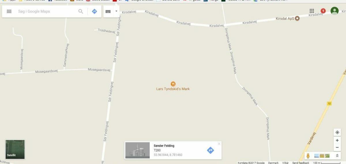 hvad ligner lort på google