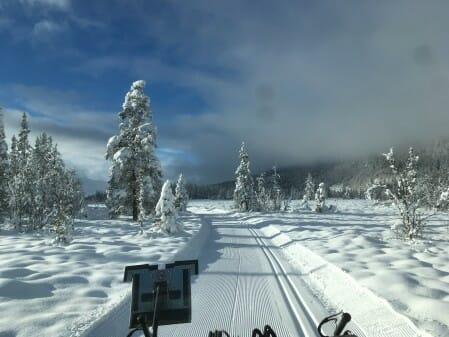 Sne til langrend og snescootere