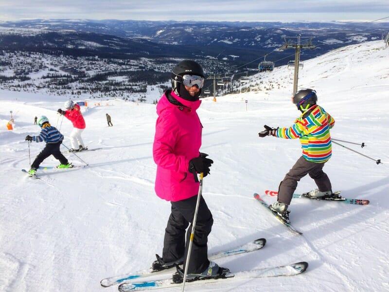 Sikker på sne i Norge