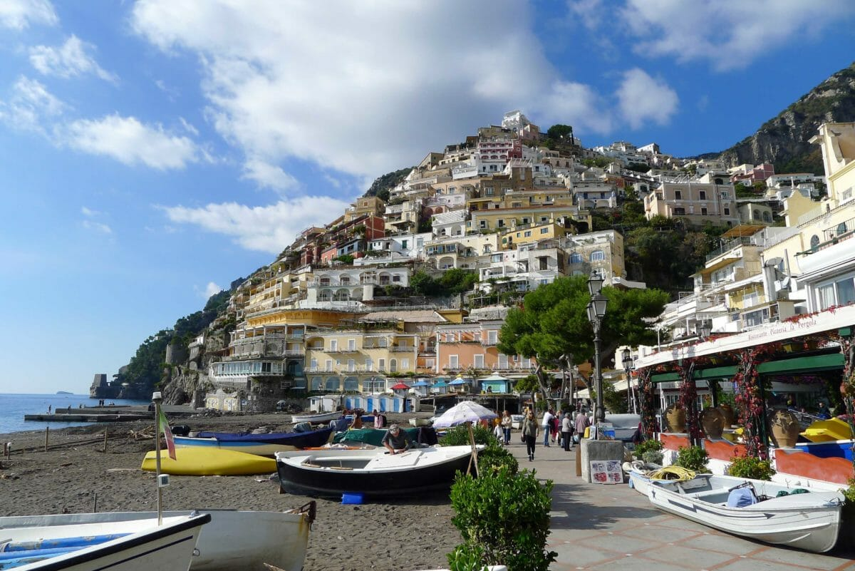 Positano – så bliver Italien ikke smukkere