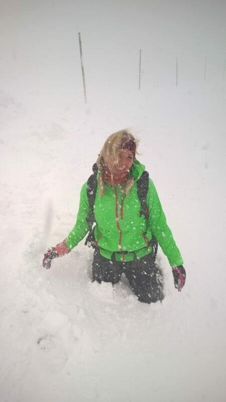 En forårsdag i et snehelvede