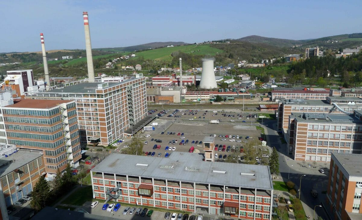 En industriby i Østeuropa, som var 100 år forud for sin tid