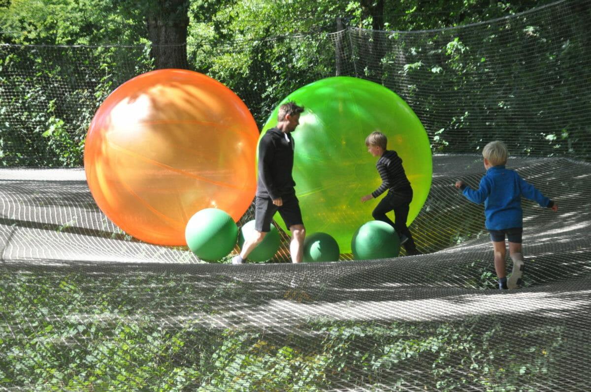 Forlystelsespark helt ude i skoven – WOW