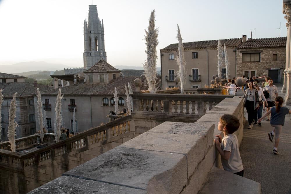 Til blomsterfestival i Girona