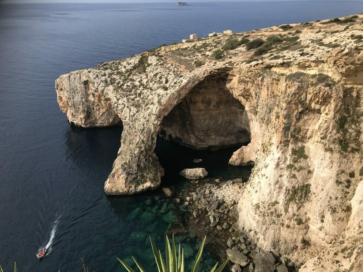 Den blå Grotte