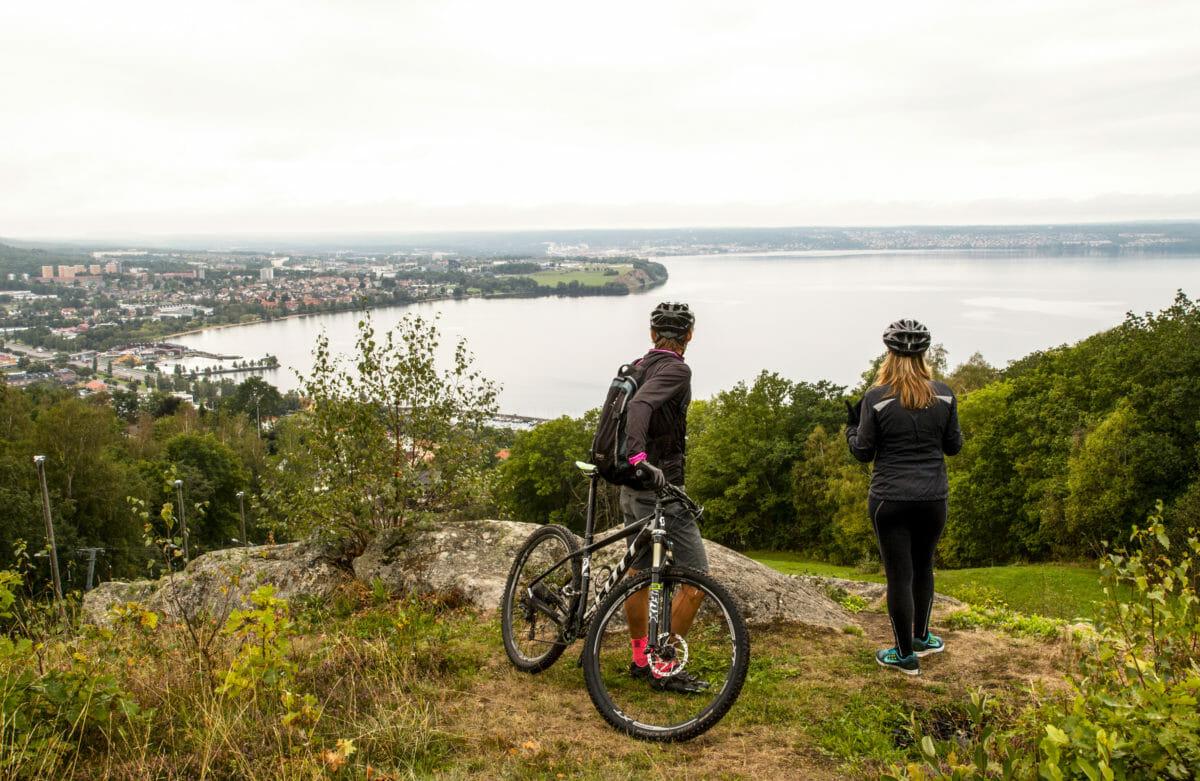 Mountainbiking ved Sveriges næststørste sø, Vättern