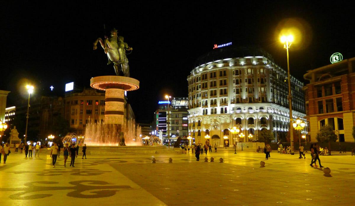 Skopje – fra jordskælvsruin til moderne storby