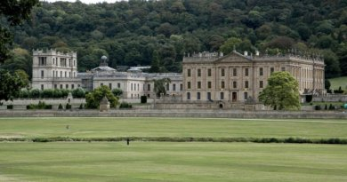 Chatsworth House i Derbyshire