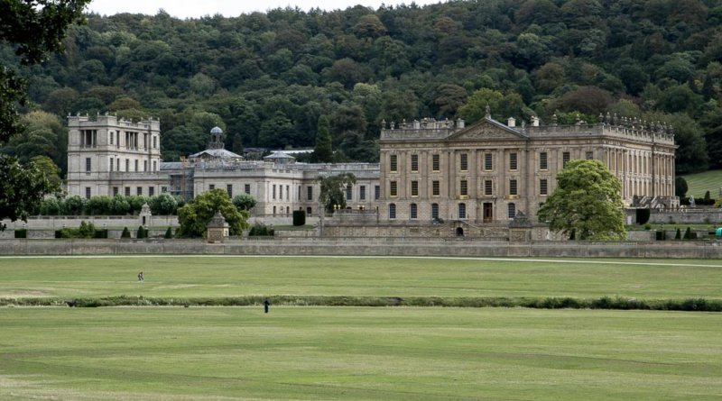 Chatsworth House i Derbyshire