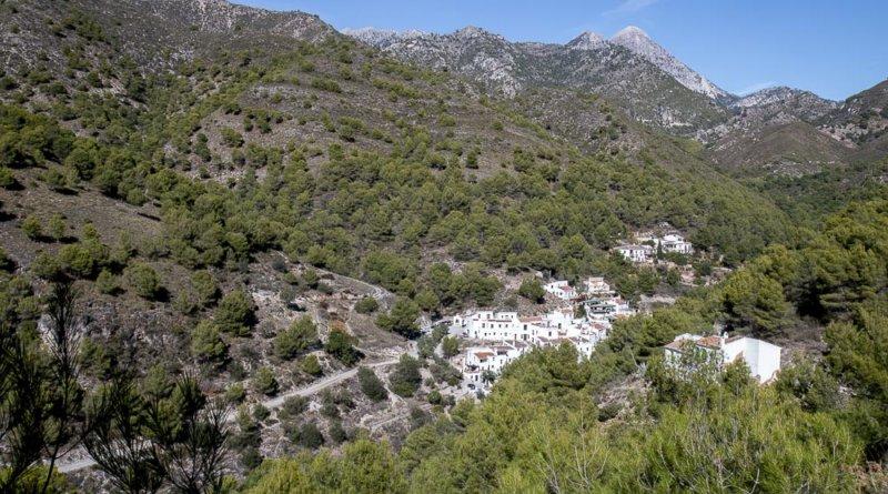 El Acebuchal ligger gemt i bjergene nord for Costa del Sol
