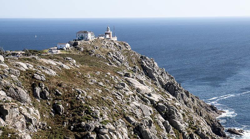 Hotel O'Semaforo ved Finisterre i Galicien